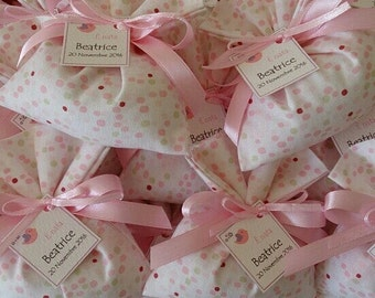 Set of 20 Bags shades of Pois-wedding favors