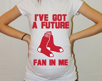 Boston Red Sox Baby Boston Red Sox Shirt Boy Baby Girl Maternity Shirt Baseball Maternity Clothing Pregnancy Shirt Baby Shower