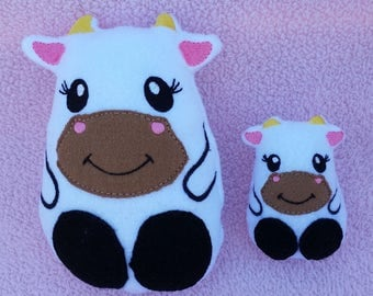 Stuffed Animal Cow Stuffie Soft Animal