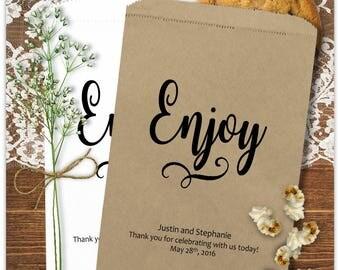 Wedding Popcorn Bags - Popcorn Bar Bags - Anniversary Party - Rustic Wedding - Birthday - Anniversary  P0P6-P18cp