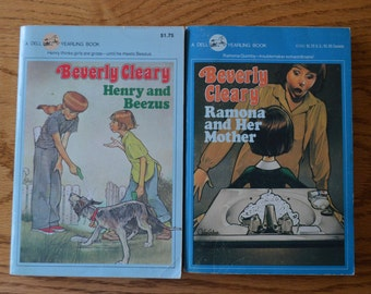 1980's Beverly Cleary Dell Yearling Books