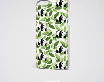 Panda iPhone 6 Case iPhone 5s Case iPhone 6 Plus Case Leaf iPhone 5 Case iPhone 5C Case Leaves iPhone 6S Case Samsung Galaxy S7 Case