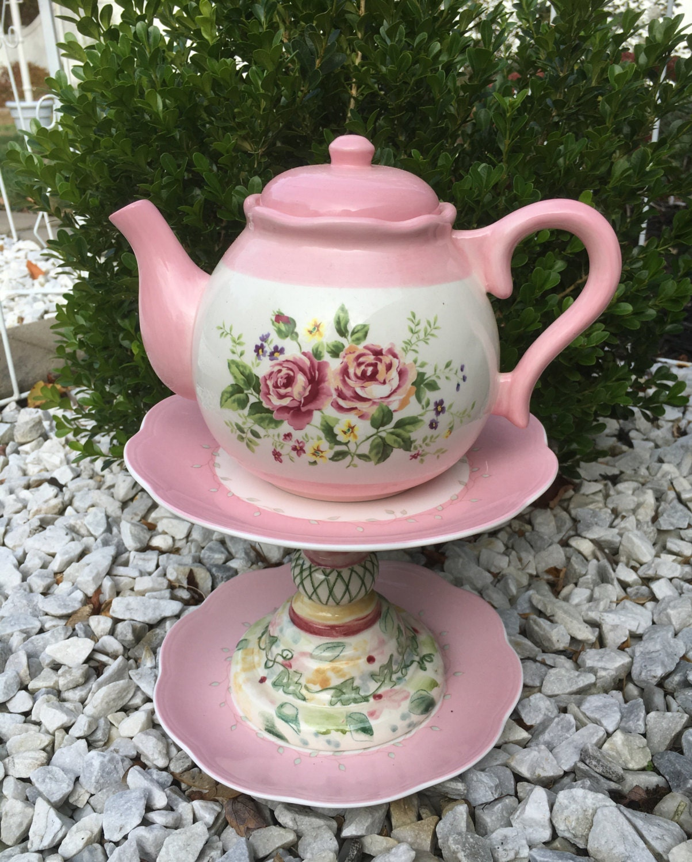 teapot home d cor teapot bird feeder upcycled garden art