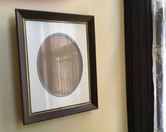 Frame Picture Frame Wood Frame Oval Frame Oval Picture Frame Large Frame Vintage Frame Wedding Frame Wall Frame Photo Art Frame Wooden Frame