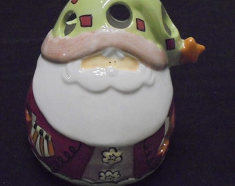 Santa Tealight Holder