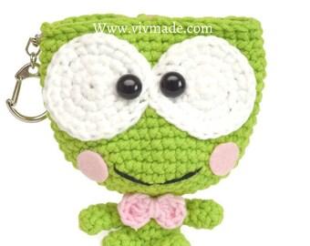 Keroppi Key Pouch, Cute key Pouch