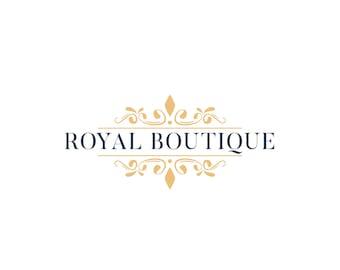 Gold Logo, Logo Design, Gold Business Logo, Business Logo, Premade Logo, Photography Logo, Small Business Logo, Feminine Logo, Elegant Logo
