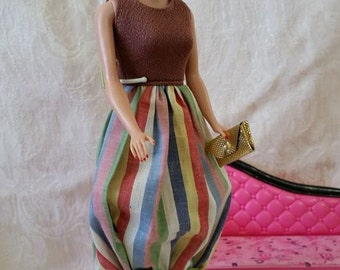 Vintage Barbie Reproduction Bubble Dress 1960's