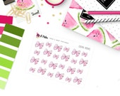 Pink Bow Stickers | 30 Kiss-Cut Stickers | CA245 |