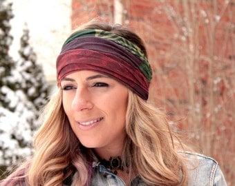 Buy 2 get 1 FREE! Earthy Yoga Headbands, Workout Headband, Best selling item, Running Headband, fitness headband, yoga, Wide headband