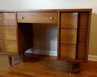 Mid Century Johnson Carper Desk