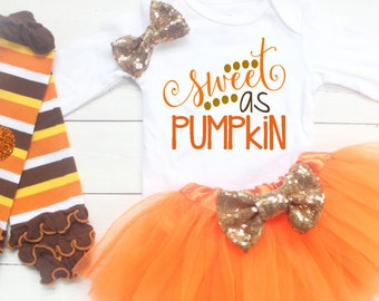 Baby Thanksgiving Outfit, Baby Girl Clothes, My First Thanksgiving, Newborn Baby Thanksgiving Outfit,  Babys First Thanksgiving, Baby Girl