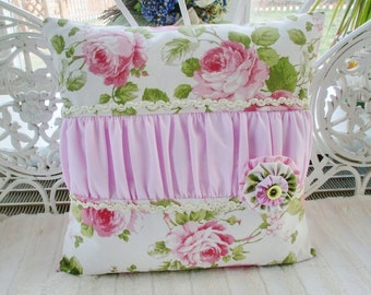 Cushion cover shabby style