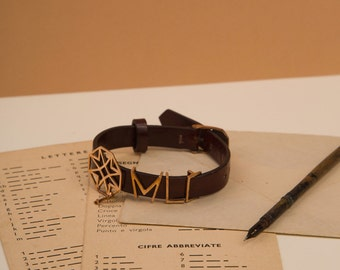 Leather Bracelet, van Eyck's classic collection