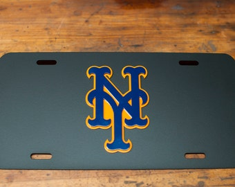 New York Mets License Plate