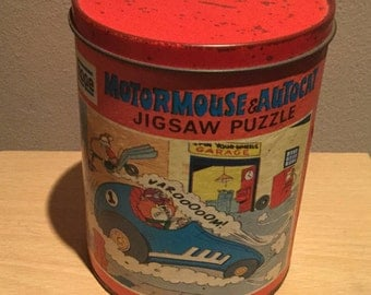 Motormouse And Autocat Jigsaw Puzzle