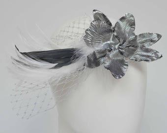 "Flapper Headband, Bridal headband, ""Charleston"", 20ies style, 30ies, headpiece, great gatsby, vintage style"