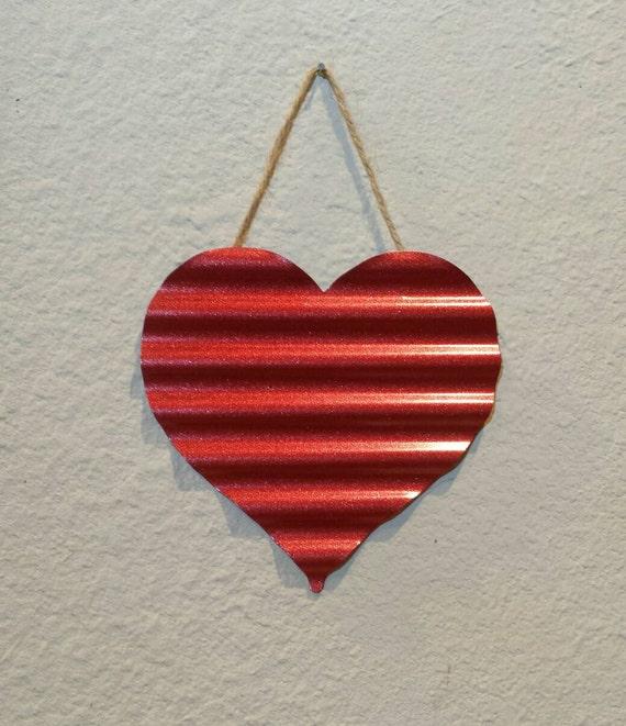 metal heart wall art heart door decor metal heart. Black Bedroom Furniture Sets. Home Design Ideas