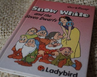 Snow White and the Seven Dwarfs. A Walt Disney Ladybird Children's Reading Book. First Edition.