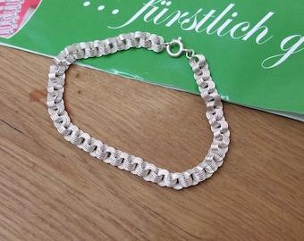Bracelet link bracelet 925 Silver vintage SA195