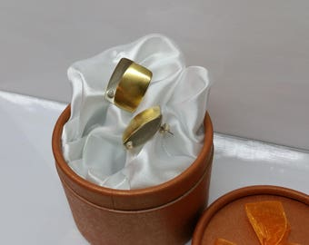 Stud Earrings 925 Silver Crystal stone vintage SO224