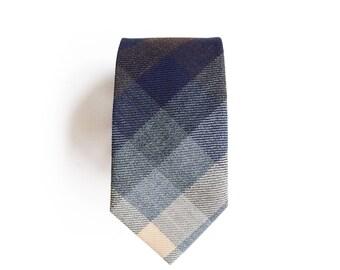 Russell Wool Men's Tie, Skinny Tie