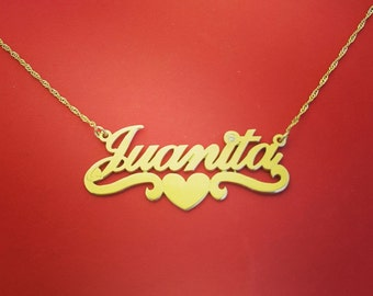 Gold Chain With Name The Perfect Christmas Gift