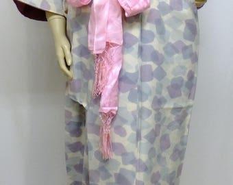600 Japanese, Kimono, Haori, Vintage Coat