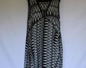 Plus Size, Hi-Lo Maxi Dress Black & Navy 1X, 2X, 3X