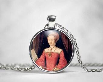 Queen Elizabeth I, 25mm Pendant, Elizabeth Tudor, Tudor Era, British History