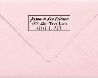 Custom Return Address Stamp, Wedding Address Stamp, Change of Address Stamp, Modern Address Stamp, Wedding Shower Gift, Teacher Gift 587