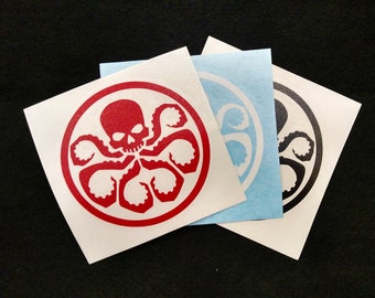 Hydra vinyl decal