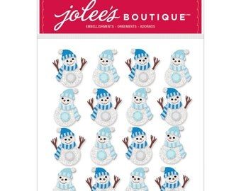 Jolee's Boutique Christmas Stickers - Snowmen