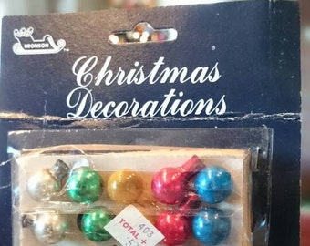 Vintage Miniature Glass Ornaments/New Old Stock
