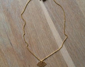 Necklace mini Cloudy (gold)