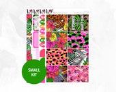 Jungle Small Kit - Matte Glossy Erin Condren Planner Stickers -