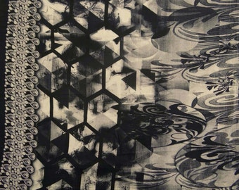 """Dressmaking Fabric, Printed Fabric, Indian Decor, Beige Fabric, Sewing Crafts, Quilting Fabric, 44"""" Inch Cotton Fabric By The Yard ZBC7293A"""
