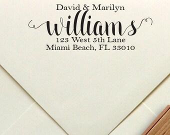 Address Stamp, Custom Rubber or Self Inking Stamp, Personalized Rubber or Self Inking Stamp