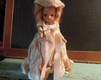 Vintage Nancy Ann Storybook Bisque Doll / Nancy Ann Story Book Doll