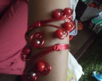 aluminium wire bracelet