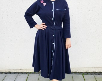 "50s Winter Dress ""Hannah"""