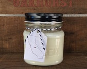 Oakhurst || Scented Soy Candle || California || Chocolate || Fudge || Cream