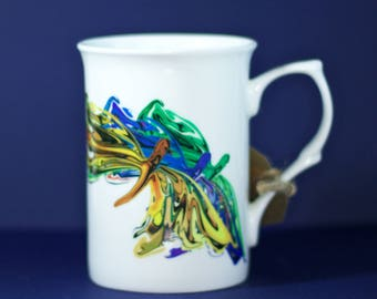 Artistic Designed Mug - Abstract Butterfly