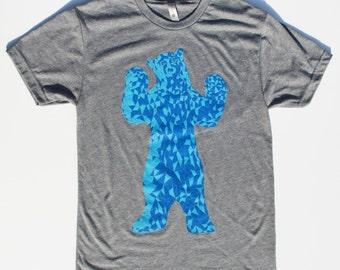 Colorado Blue Bear - Denver - Colorado Flag Shirt - Vintage Colorado Shirt