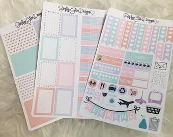 Cupcake Cutie Weekly Planner Sticker Kit | Erin Condren & Plum Paper Planner