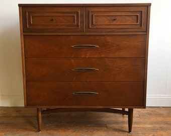 Broyhill Sculptra Highboy Dresser