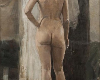 Nude,  46x29.5 inches