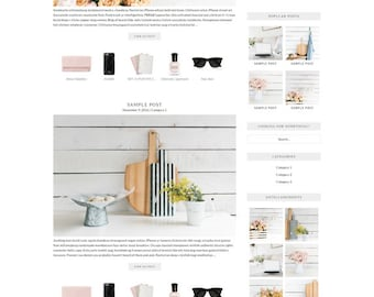 WordPress Theme // Genesis Child Theme // Stella & Co.