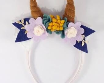 Faun deer ears headband
