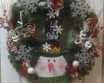 "Shop ""snowman face"" in Home & Living"